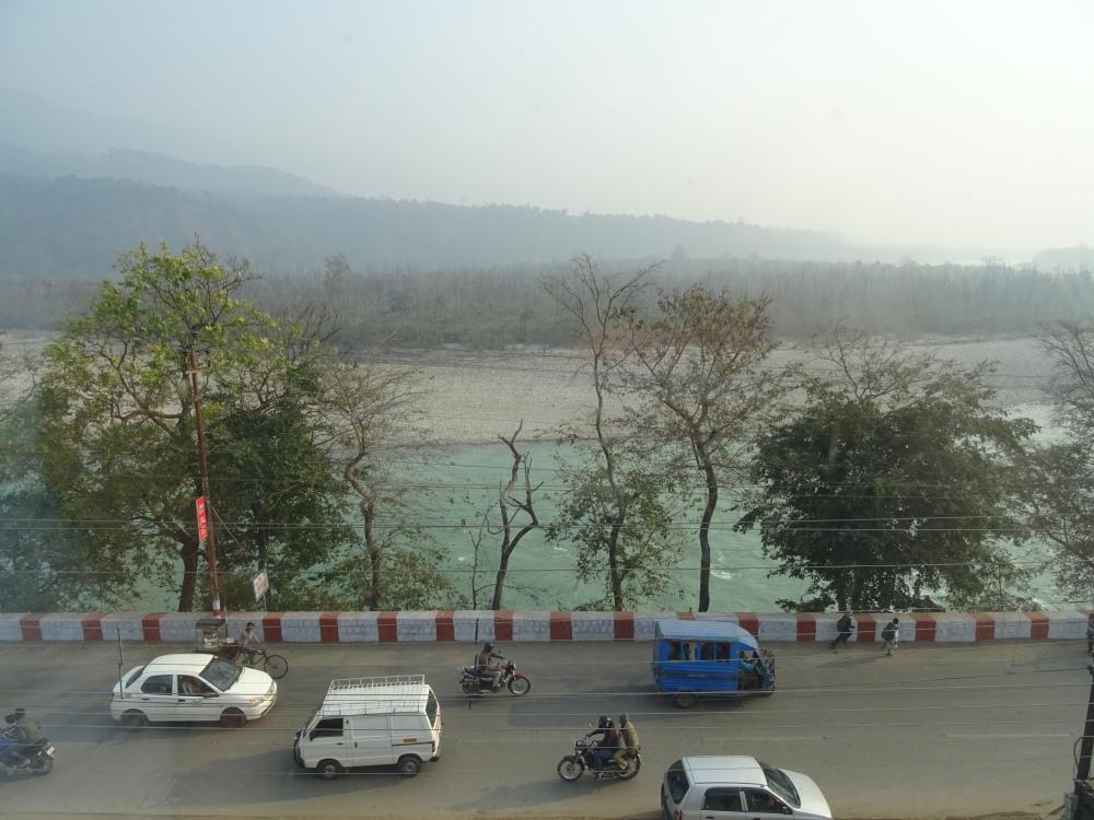 View from Ella Bee at Rishikesh