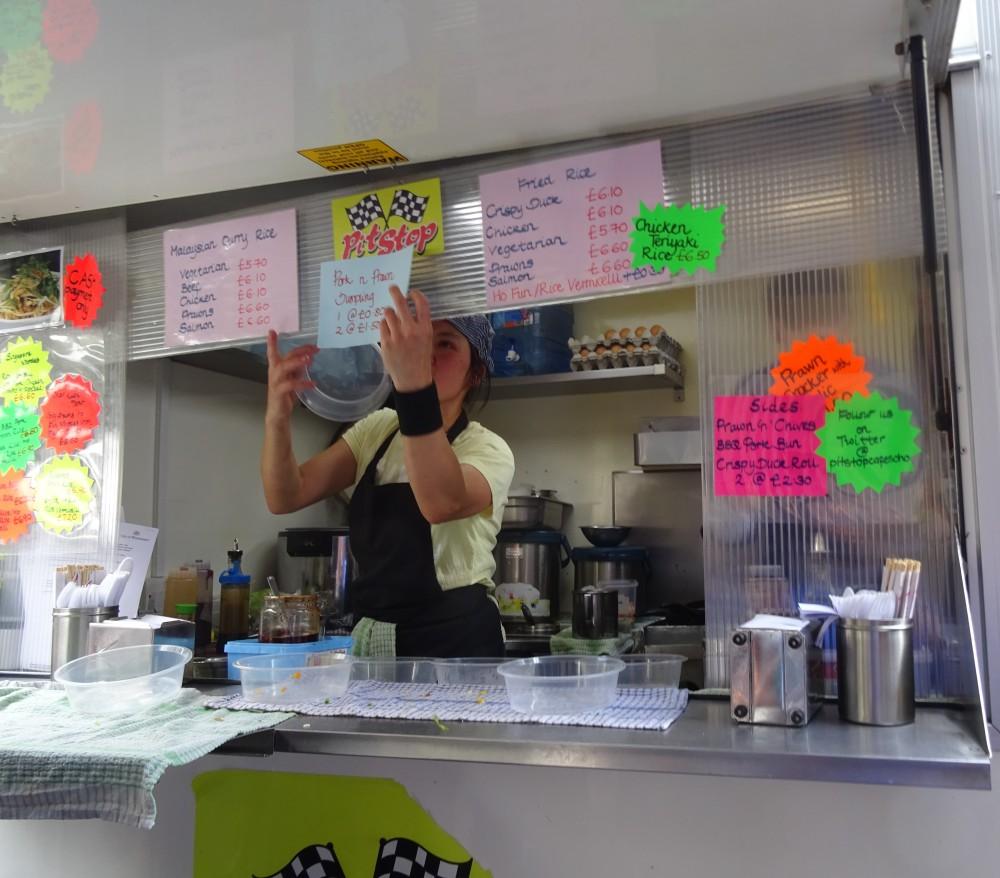 Pit Stop Cafe on Berwick Street