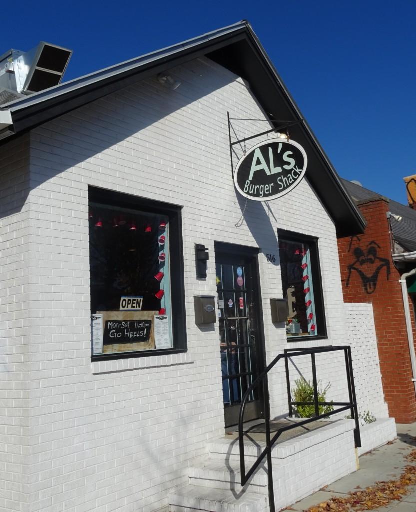 ALs Burger Shack in Chapel Hill