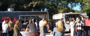 Food Trucks Outside
