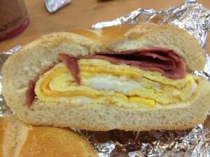Breakfast Sandwich Half