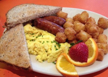 Sausage and Eggs at Big Daddy's