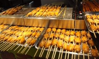 Sesame Chicken at Dongmen Market