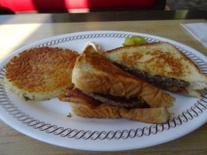 Texan Bacon Patty Melt at the Waffle House