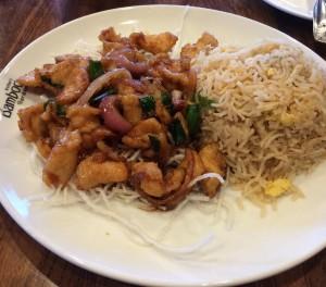 Mongolian Chicken at Inchin