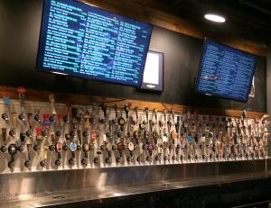 Pumps at Raleigh Beer Garden