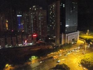 Outside Shangri La Shenzhen