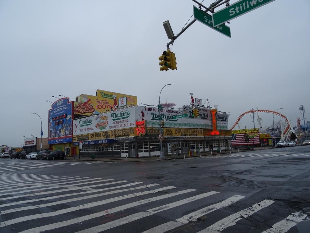 Nathans Original at Coney Island