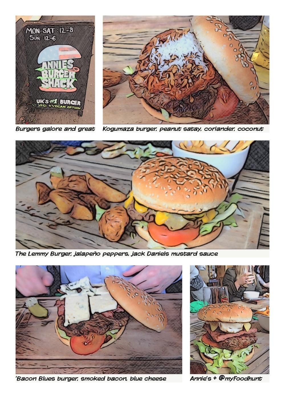 Annies burger shack comic