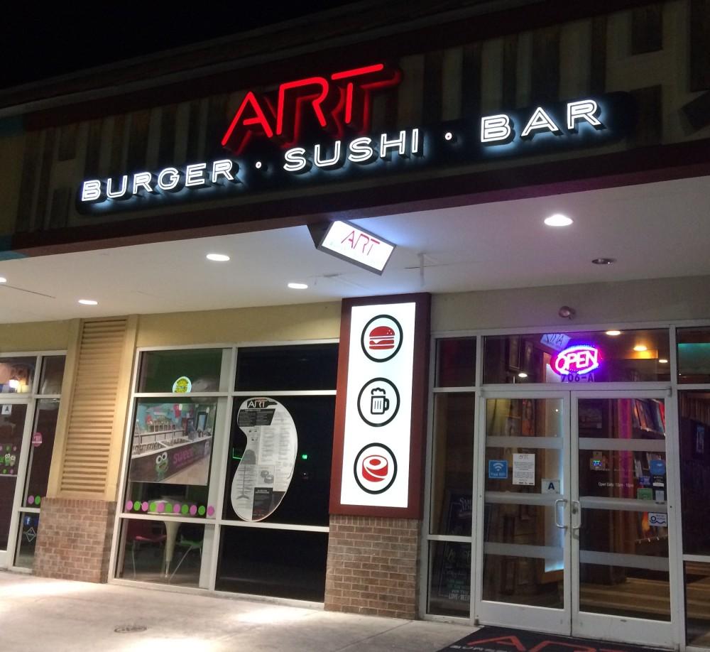 Art Burger and Sushi Bar