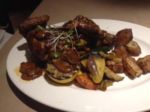 Rotisserie Chicken at Guys Kitchen and Bar