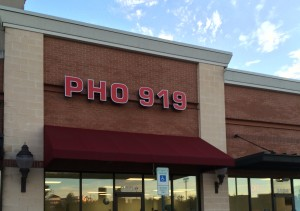 Pho 919 in Morrisville