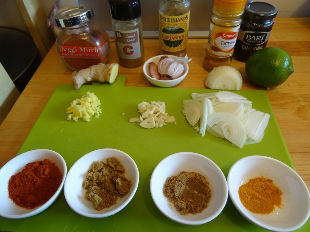 Hairy Dieters Fish Curry Ingredients
