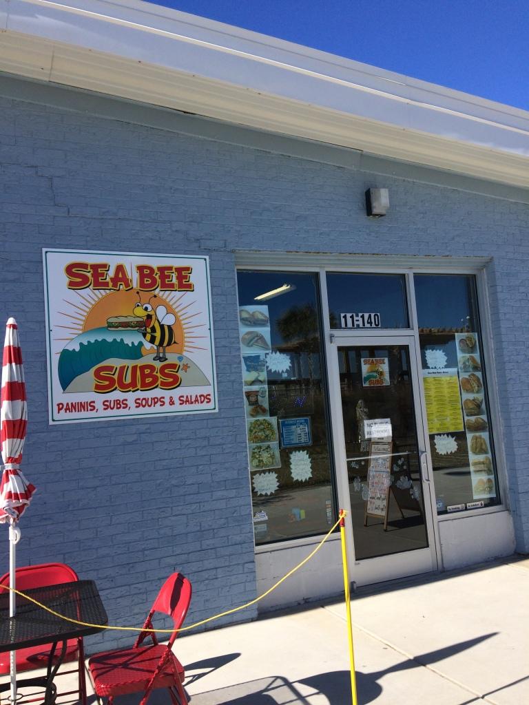 Sea Bee Subs at Carolinas Beach
