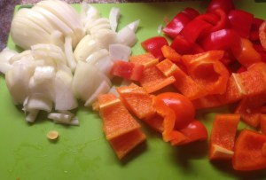Onion and Pepper