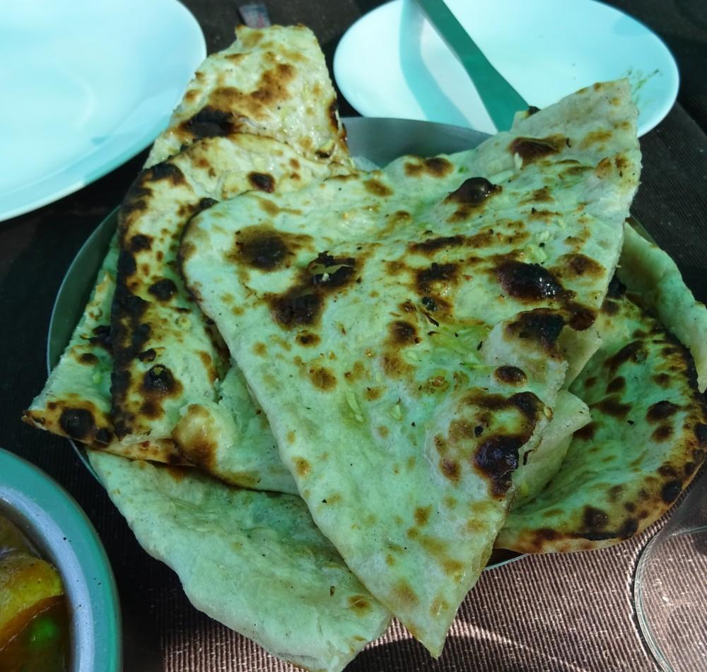 Garlic Naan at Jhumar
