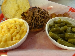 Beef Brisket Sandwich at Smokeys BBQ