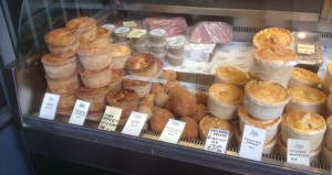 Pies and Rolls at The Ginger Pig