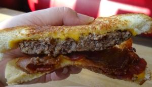 Texas Bacon Patty Melt