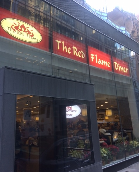 The Red Flame Diner in New York