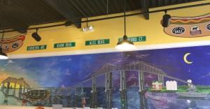 Inside East Bay Deli in Charleston
