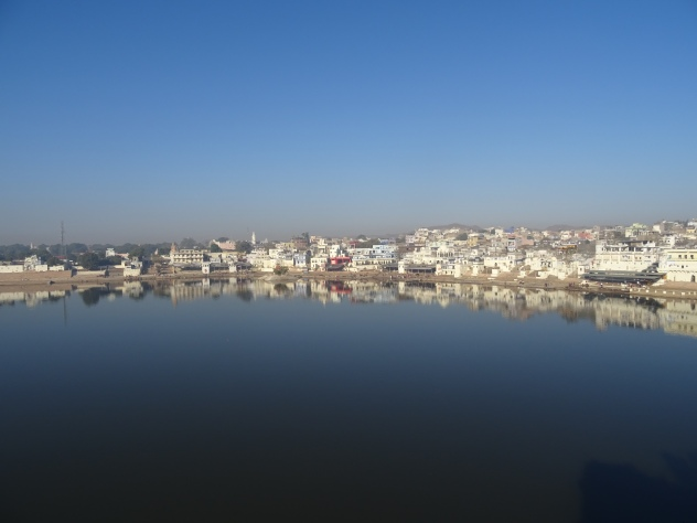 Sacred lake in Pushkar
