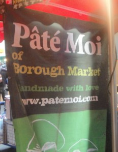 Pate Moi at Borough Market
