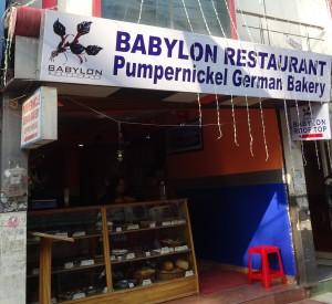 Babylon Restaurant in Rishikesh