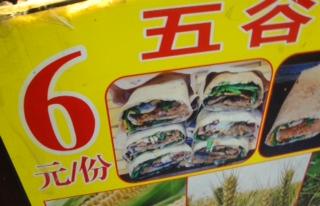 Chinese Hamburger Wrap