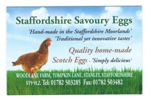 Staffordshire Savoury Eggs