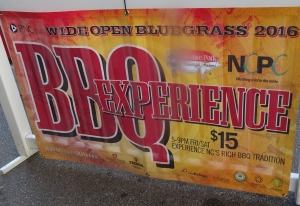 BBQ Experience poster