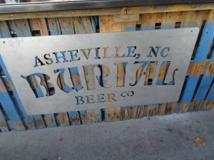 Burial Brewery in Asheville