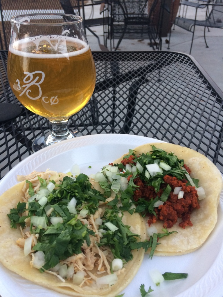 taco and beer