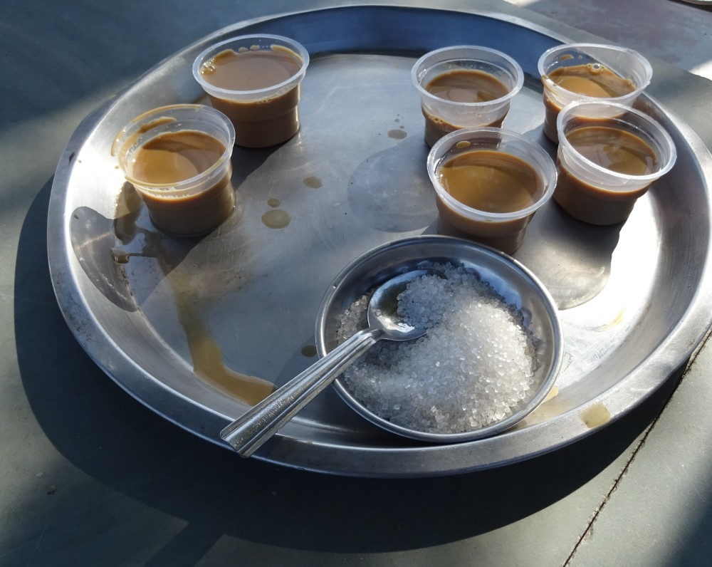 Chai stop in India