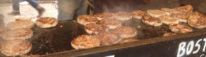 Boston Sausage Burgers on the Grill