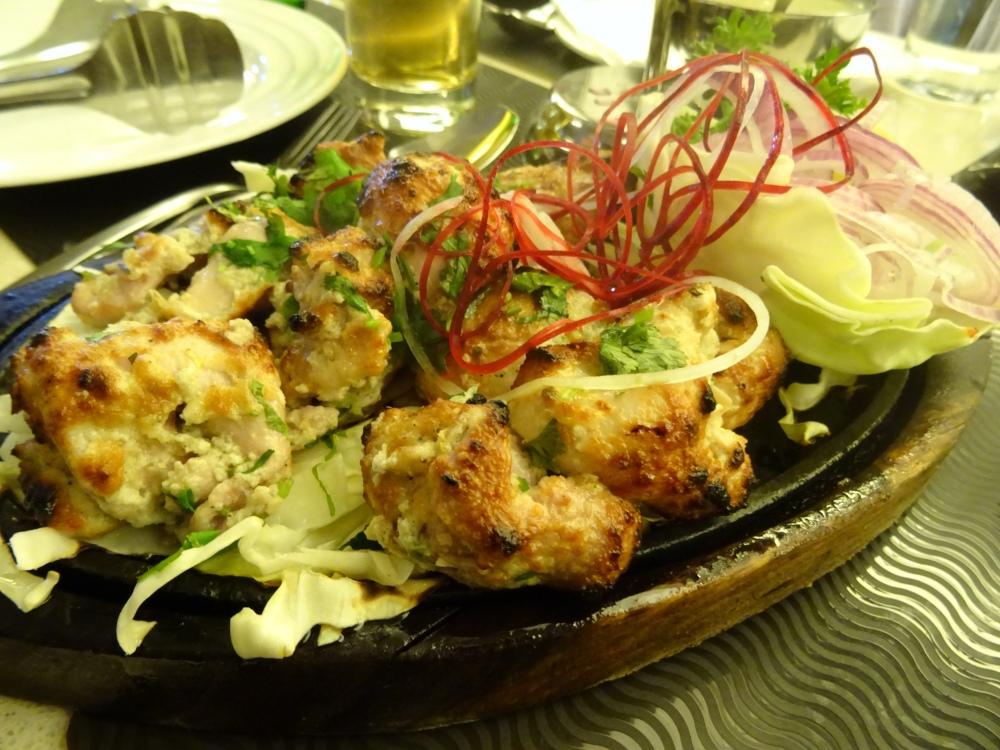 Haryali Chicken Tikka