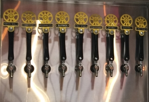Beer Pumps at Crank Arm