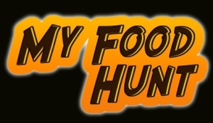 imagery food hunt cartoon logo