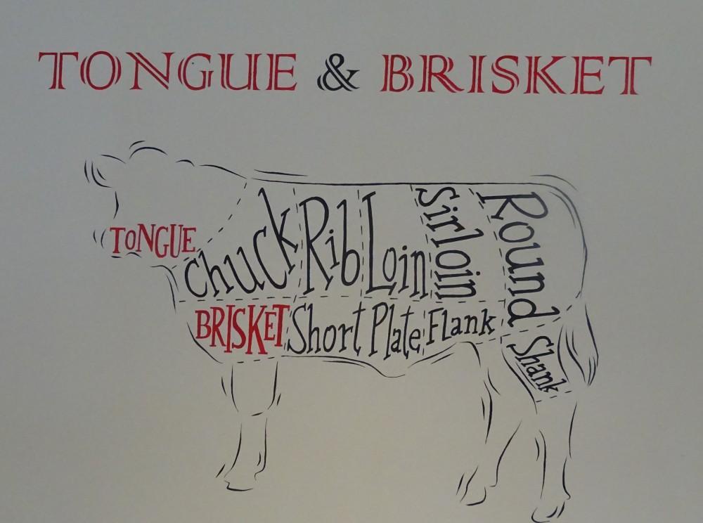 Tongue and Brisket Sign