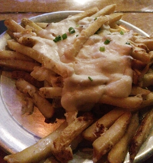 Cheese Fries at Raleigh Beer Garden
