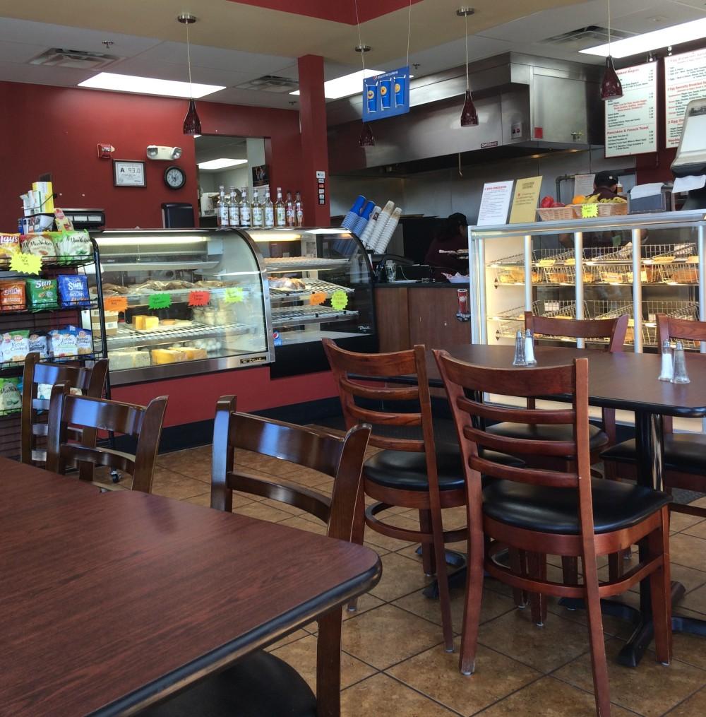 Inside NC Bagel Cafe and Deli