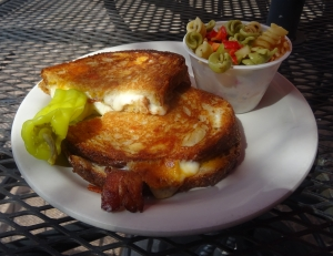 Gourmet Grilled Cheese at Peppers