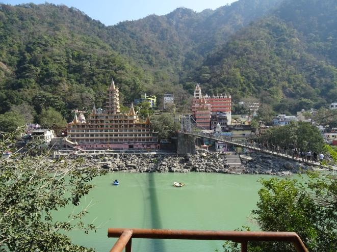 View in Devraj Coffee House at Rishikesh at Lunch