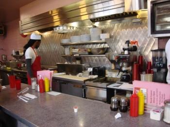 Inside Clover Grill