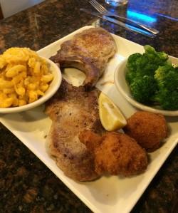 Pork Chop special at Hymans