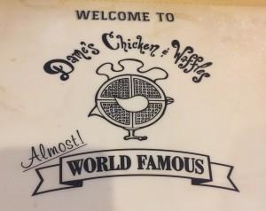 Dames Waffle World Famous logo