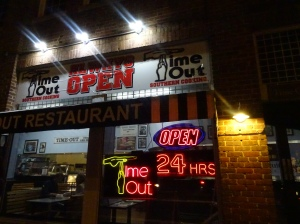 Time-out Grill in Chapel Hill