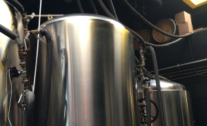 Beer Tanks at Crank Arm Brewery