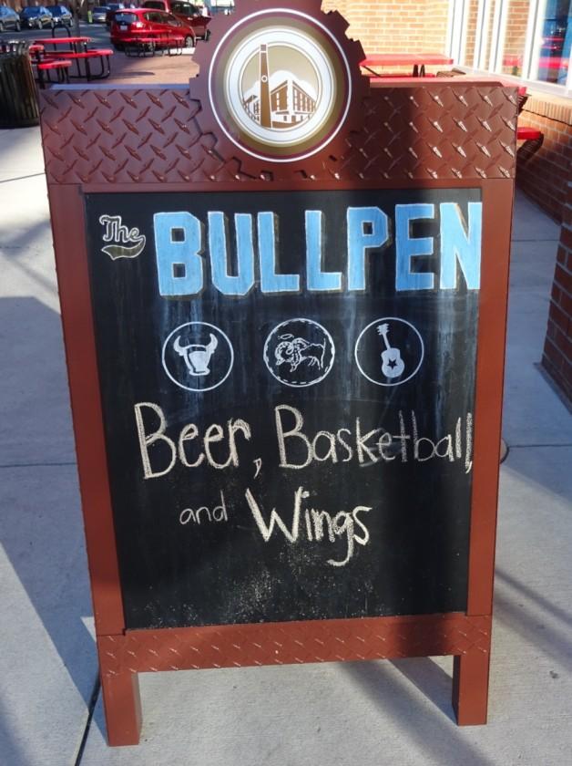 Bullpen Chalkboard