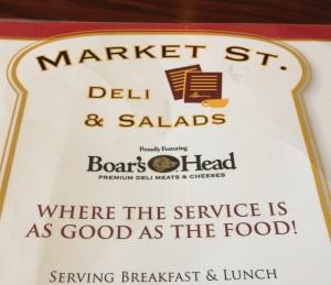 Market Street Deli in Charleston Deli